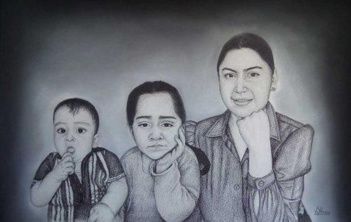 Pencil Sketch Portrait on Demand
