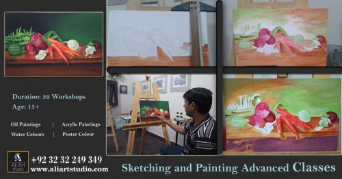 Sketching and Painting Advanced Classes