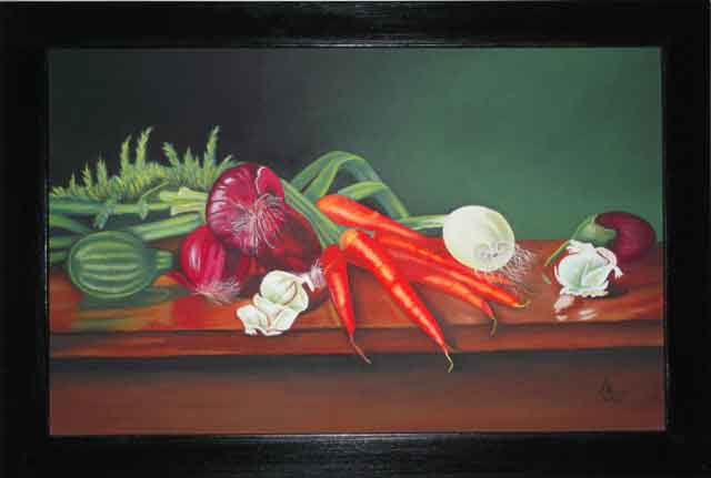 Vegetable Painting